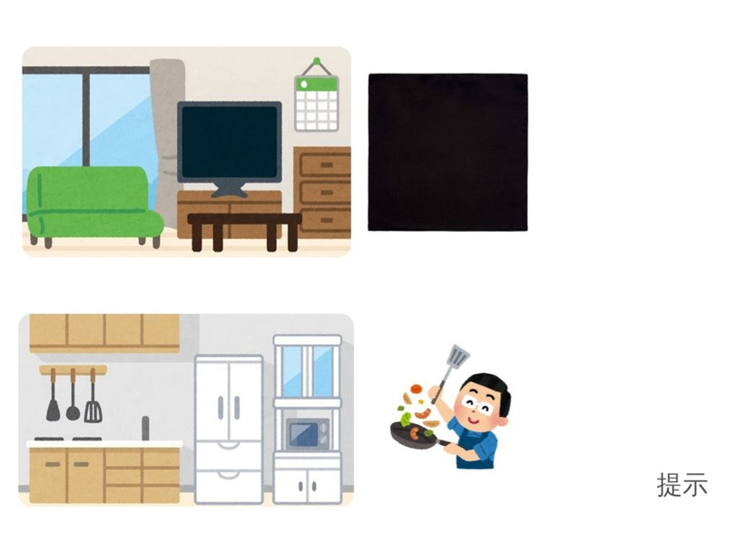 詞彙 (廳、廚房、廁所、睡房) by ST Tse