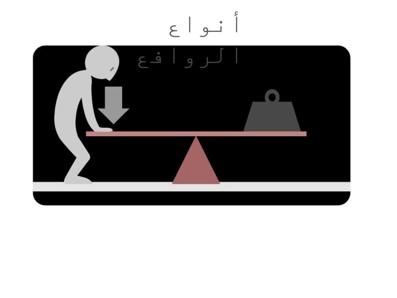 انواع الروافع by وفاء بني احمد