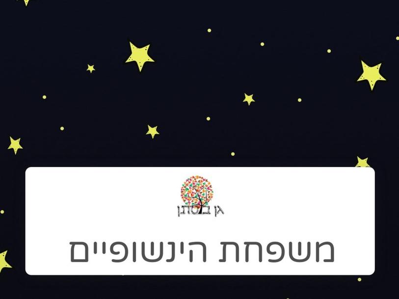 משפחת הינשופיים by Orit Friedman