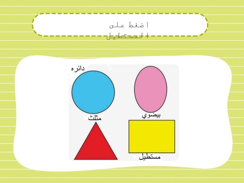 الاشكال الهندسيه by خضره ابو غانم