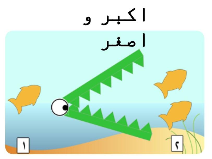 اكبر و اصغر by hadeel kaissi