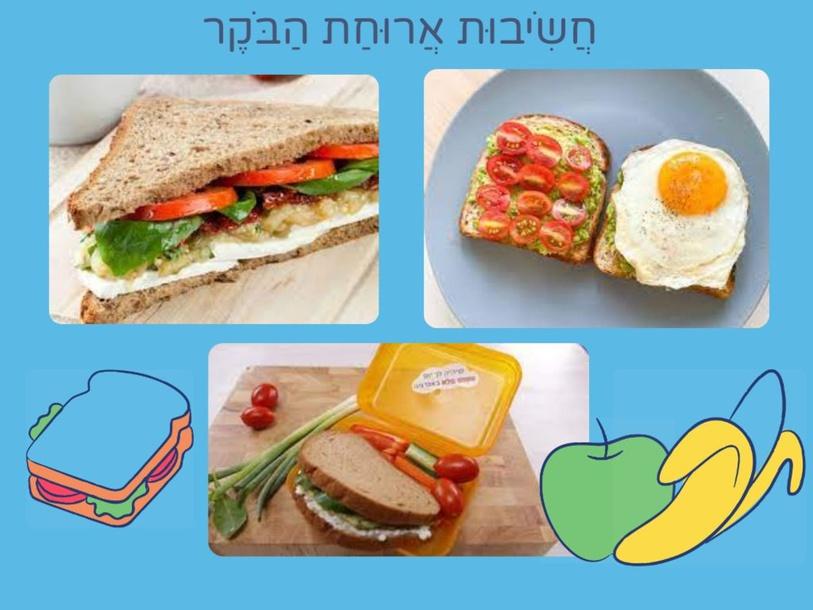 חשיבות ארוחת הבוקר by לאה גולדמן