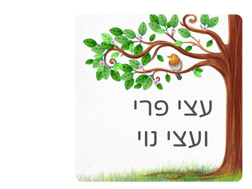 עצי פרי נוי by אביטל רוב