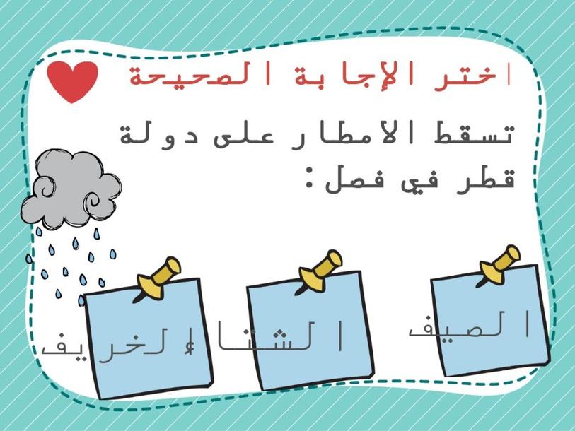 المياه في وطني by Mashael Ali
