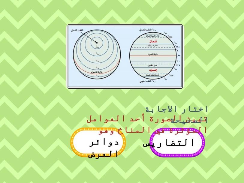 العوامل المؤثرة في المناخ by Eman Alhebshi