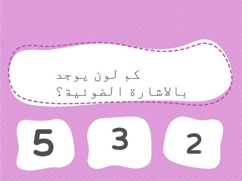 اسئلة واجوبة بالحذر على الطرق by kawther najjar