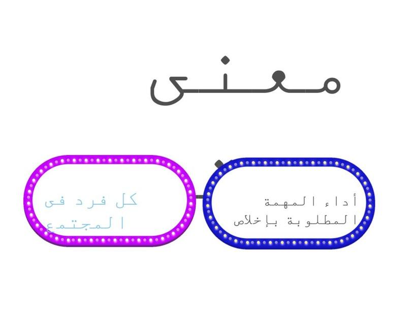حديث فضل إتقان العمل  by ethar hamam