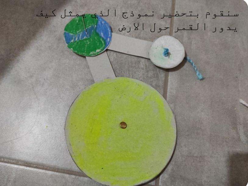 نموذج كيف يدور القمر حول الارض by שקמה דורון