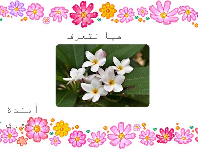 هيا يا أطفال نتعرف على النباتات by liliane khoury