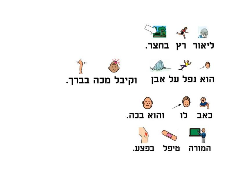 רצף סיפורי ובניית משפטים by Liat Cohen