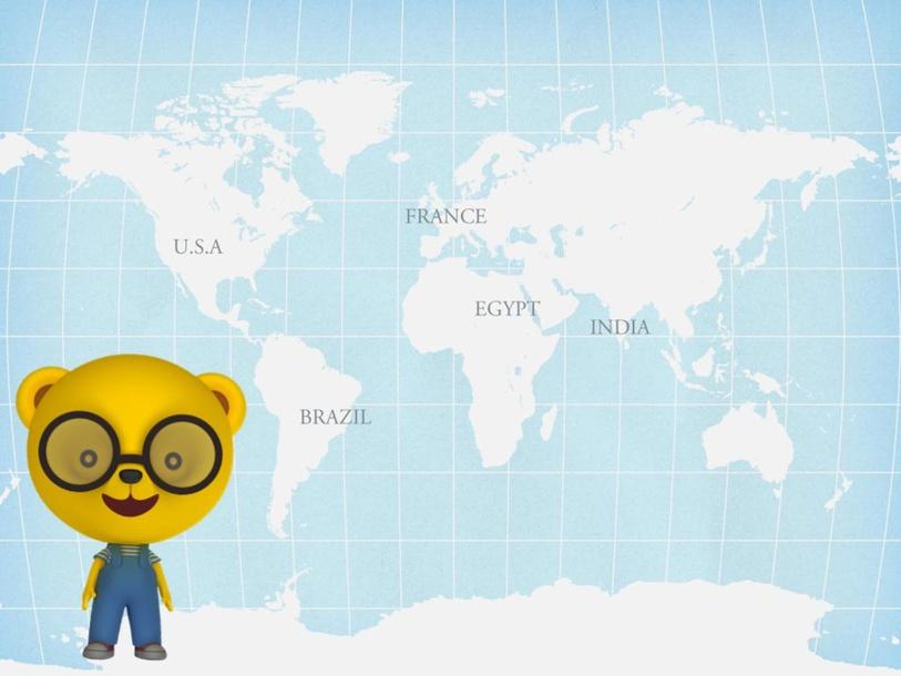 ארצות מסביב לעולם by Maya Grossman