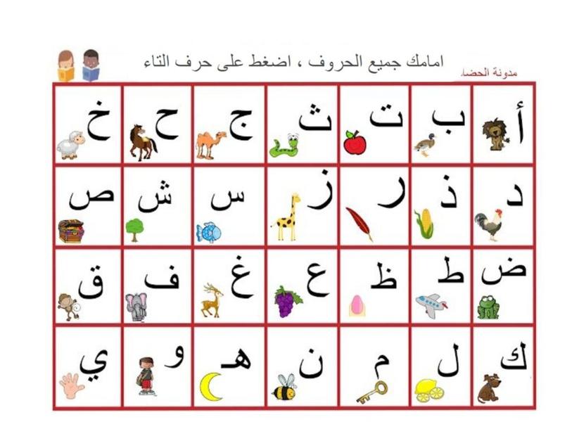 مراجعة حرف التاء by Aisha ameen