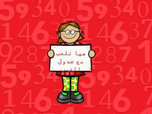 جدول الضرب by Rahaf