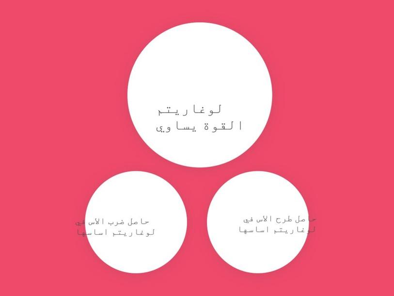 مشروع رياضيات by Najla Fhaid
