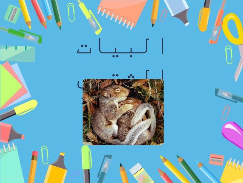 البيات الشتوي by maisa Hussain