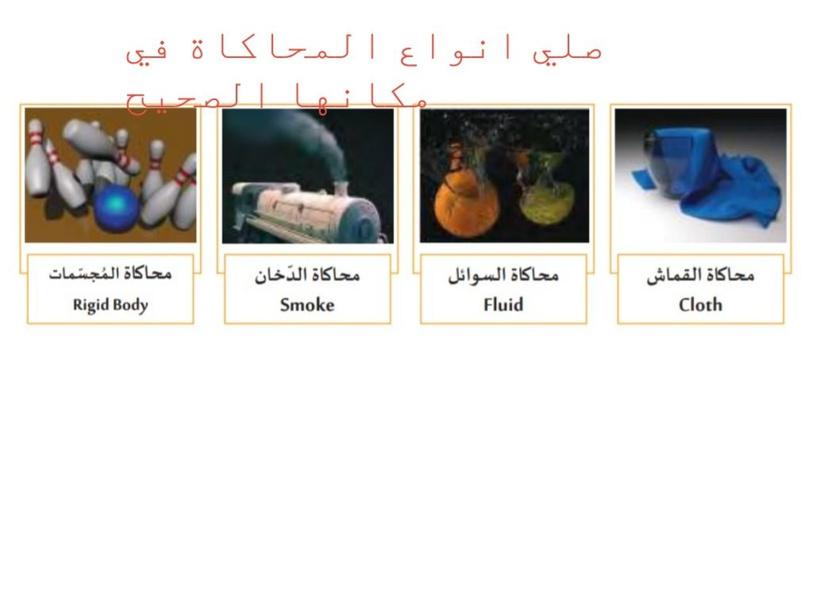 انواع المحاكاة by alaa alsalman