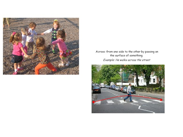 across vs. around by Lisa Taylor