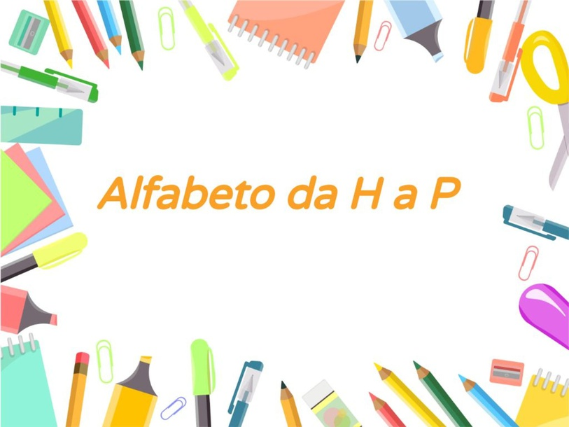 alfabeto da H a P by Giuseppina Castellano