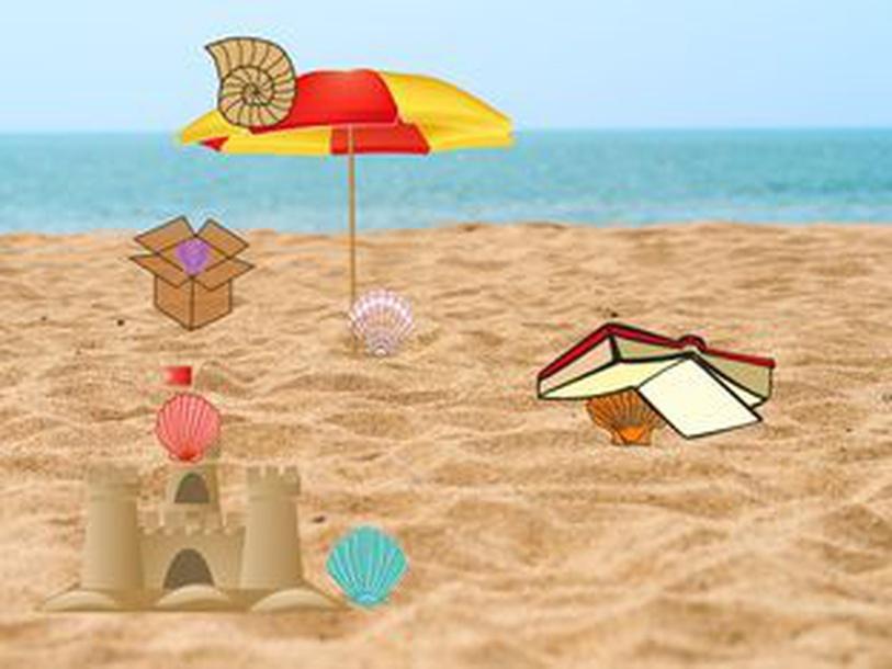 beach prepositions by Карина Михайловская
