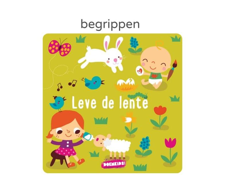 begrippen leren met thema lente by Marian van Roosmalen