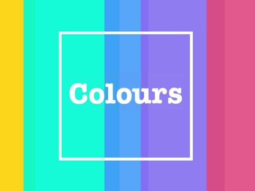 colours by Katarzyna Góralczyk
