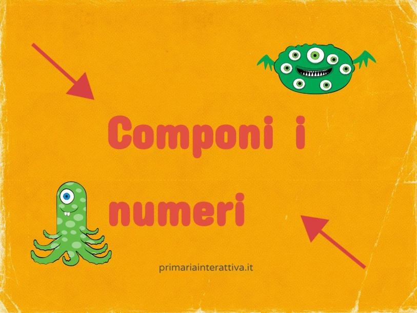 componi numeri by Primaria Interattiva