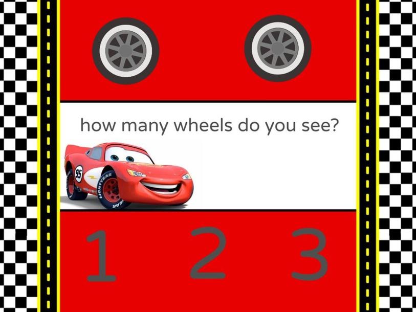 counting wheels by Astrid Hernandez