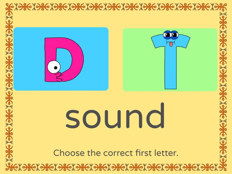 d and t sound by Donnah Rose Canonoy