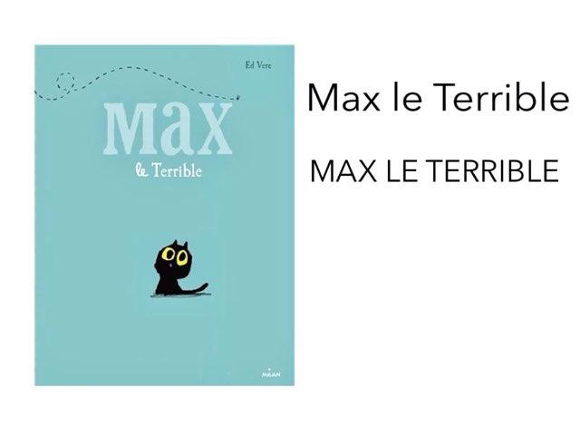 #devinincos Les personnages de Max le Terrible by Mélanie Cornet