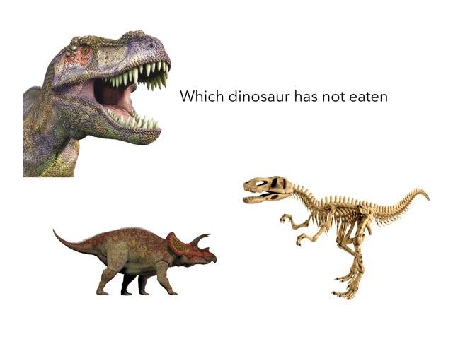 dinosaur Skill Test by Alexander mendieta