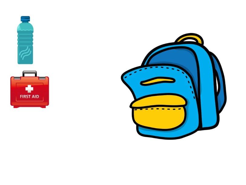 emergency backpack by ruby toe