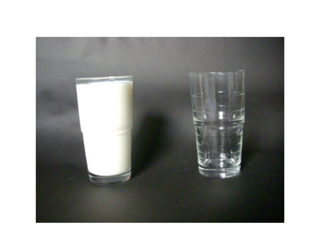 empty vs. full by Lisa Taylor