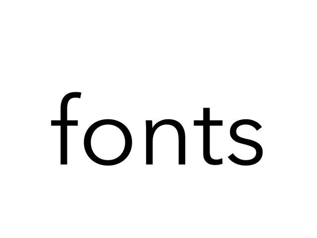 fonts1 by umhj hjmbj