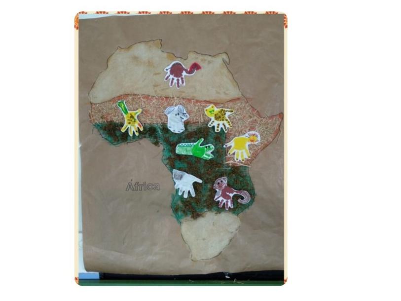 África Puzzle by Miguel Moreno de la Rúa