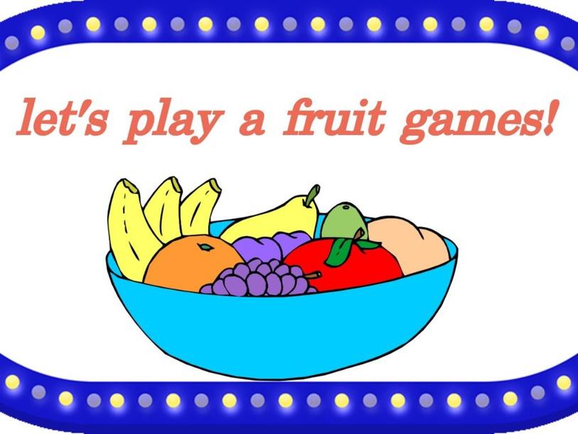 help teacher find fruits! by Zahira Zamrry