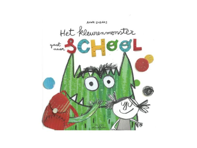 het kleurenmonster gaat naar school  by Kleuterjuffen Veeweide