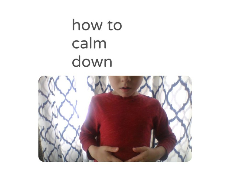 how do you calm down by Yvonne armstrong