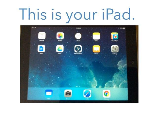 iPad Center by Lisa Hervey