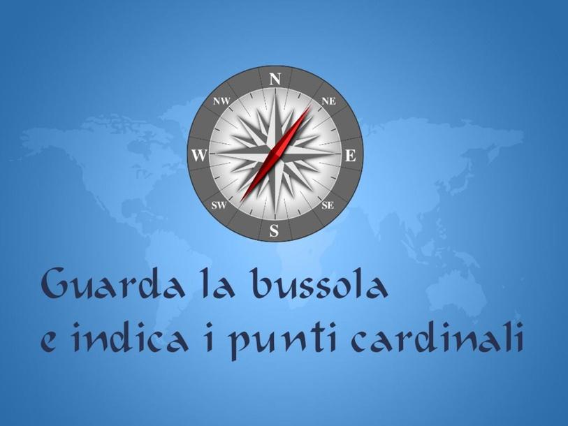 i punti cardinali by Primaria Interattiva