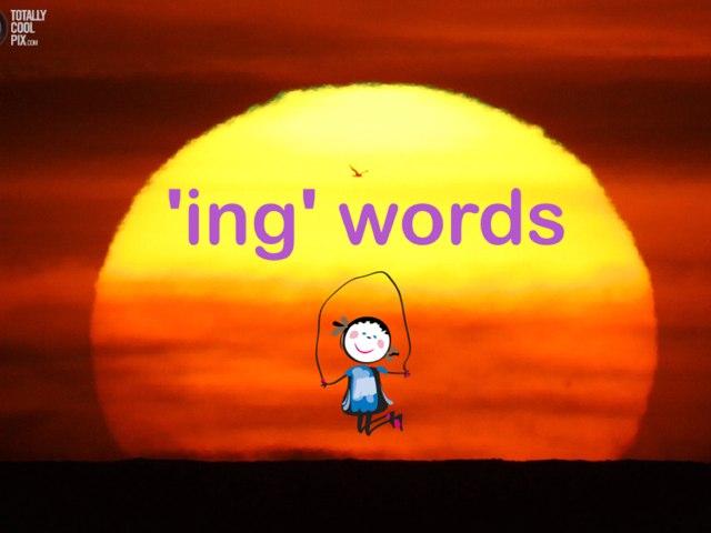 'ing' Sound by Jen Siddons