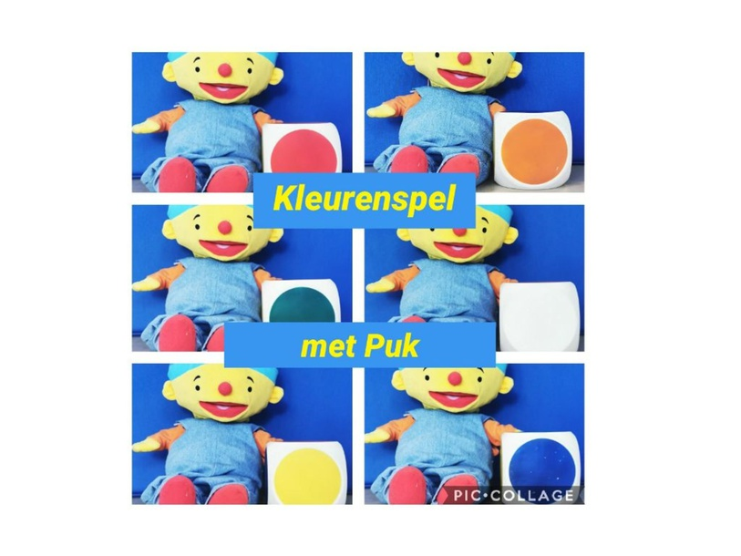 kleurenspel met Puk by Marian van Roosmalen
