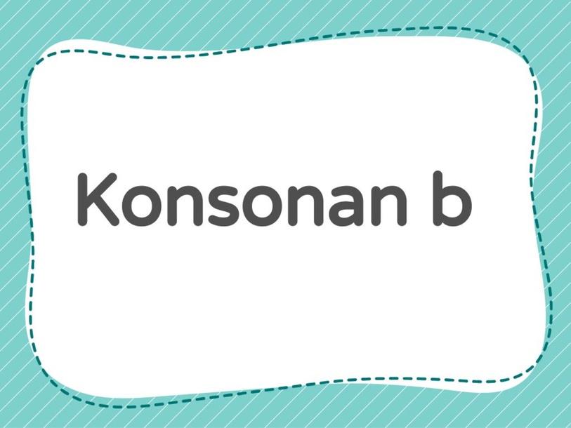 konsonan b by yy lai