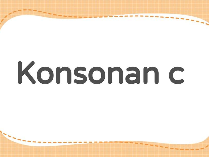 konsonan c by yy lai