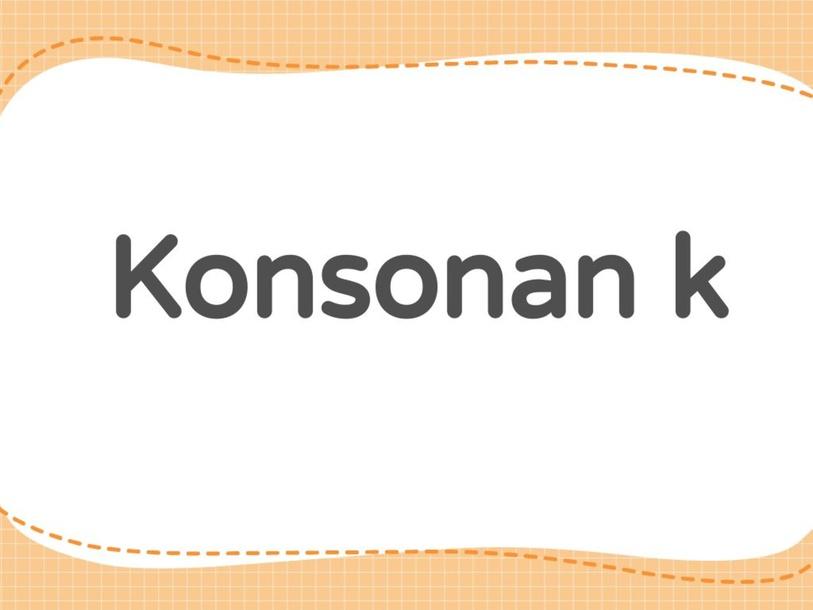 konsonan k by yy lai