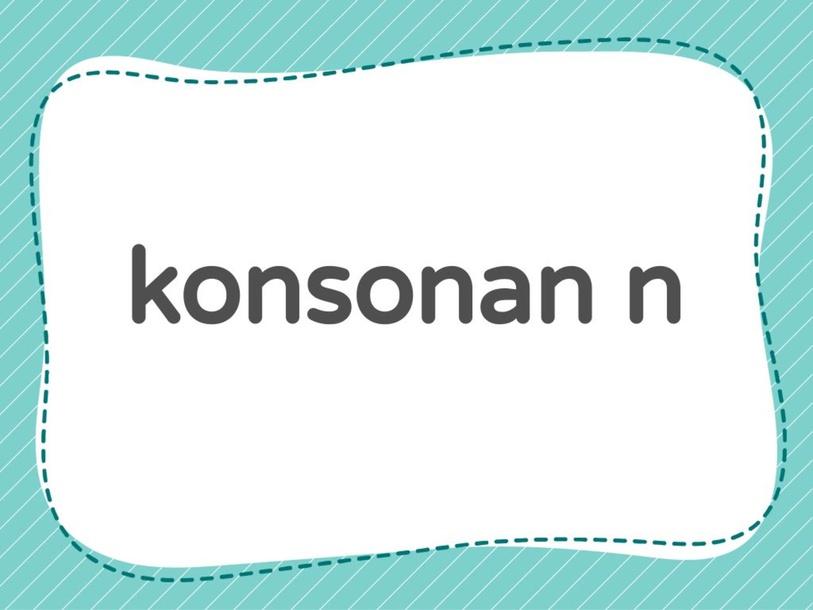 konsonan n  by yy lai