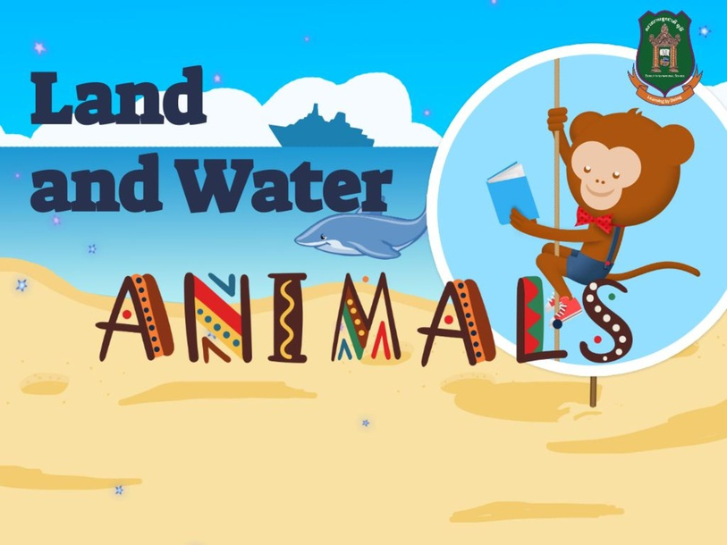 land and water animals by Rose Canonoy