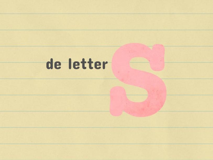 lees je honger: de letter s by Patricia Kennes