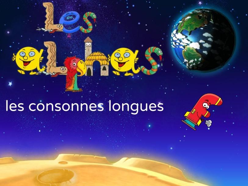 les consonnes longues (script et majuscules) by nadeirdre Benmbarek