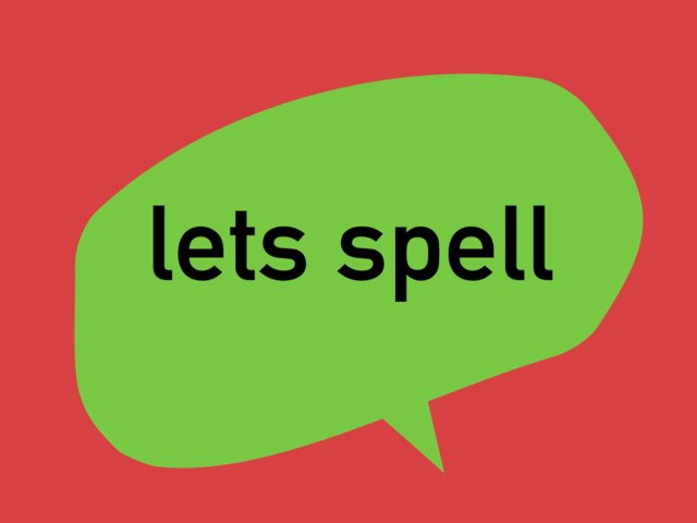 lets spell by Allison McGillivray