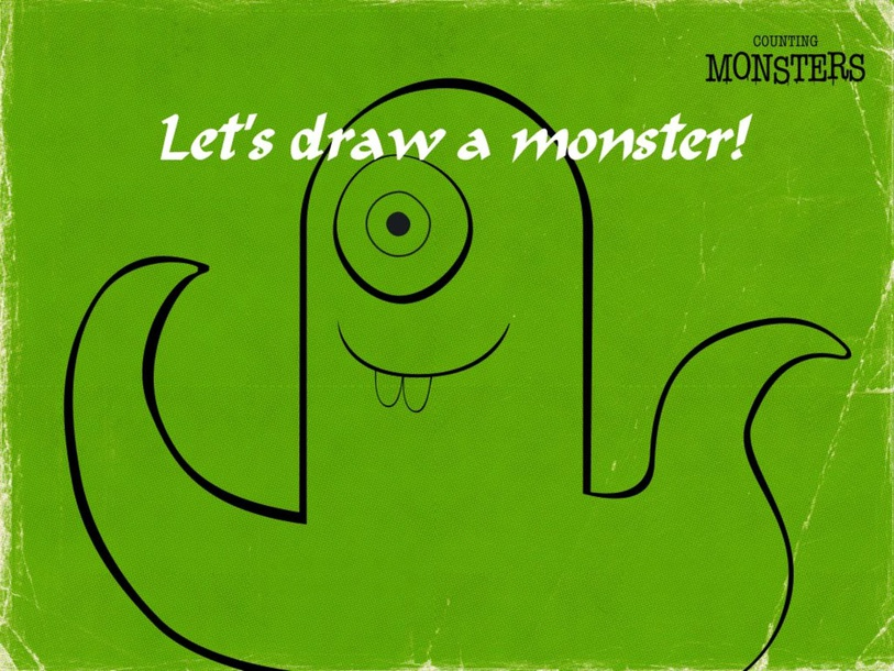 let's draw a monster by WANG YL